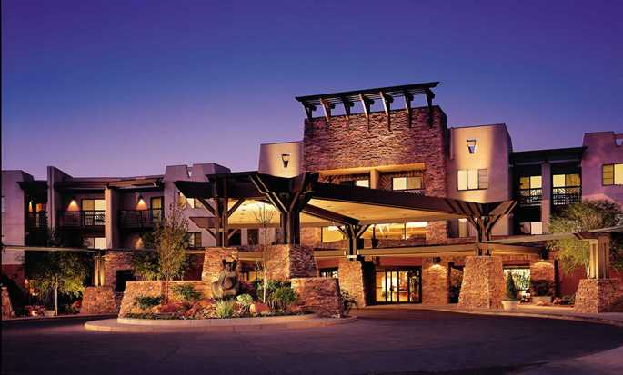 Hotel Hilton Sedona Resort at Bell Rock, Arizona - Fachada del hotel