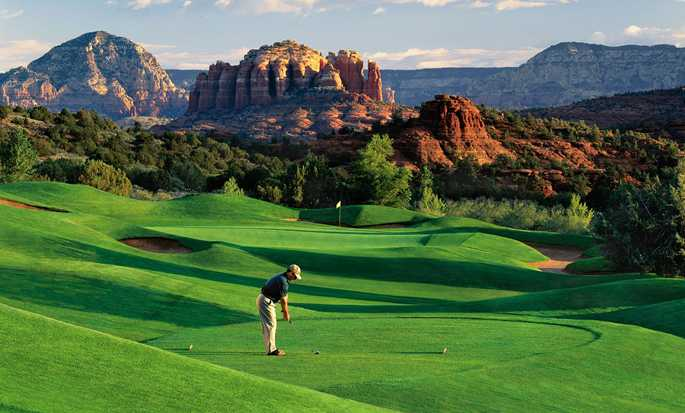 Hotel Hilton Sedona Resort at Bell Rock, Arizona - Campo de golf