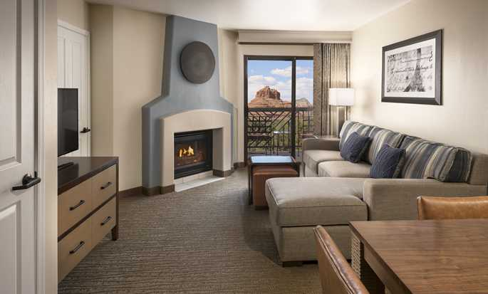Hotel Hilton Sedona Resort at Bell Rock, Arizona - Habitación con cama King
