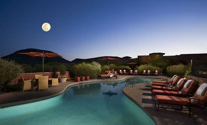 Hotel Hilton Sedona Resort at Bell Rock, Arizona - Piscina