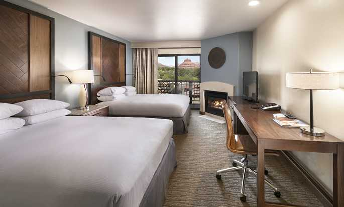 Hotel Hilton Sedona Resort at Bell Rock, Arizona - Habitación con dos camas Queen