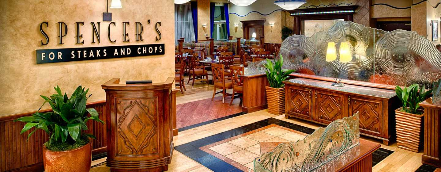 Hilton Seattle Airport Hotel & Conference Center, USA – Spencers For Steaks and Chops