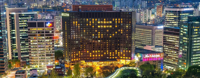 โรงแรม Hilton Millennium Seoul เกาหลีใต้ - ห้องพรีเมียร์สวีท