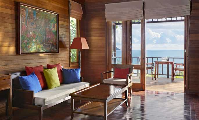 Hilton Seychelles Northolme Resort and Spa – Villa mit Meerblick
