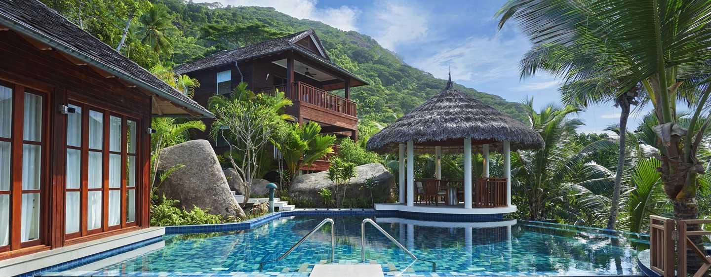 hilton seychelles labriz resort spa hotels auf den seychellen. Black Bedroom Furniture Sets. Home Design Ideas