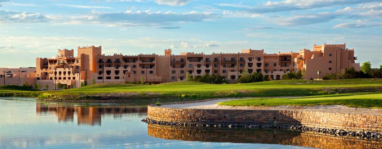 Hotel Hilton Santa Fe Buffalo Thunder, Nuevo México - Fachada del hotel