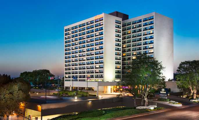 Hilton San Francisco Airport Bayfront hotel, USA – Hotellets fasad