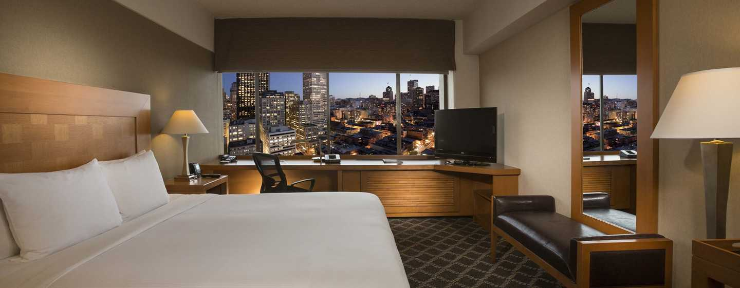 Hilton San Francisco Financial District - Quarto King