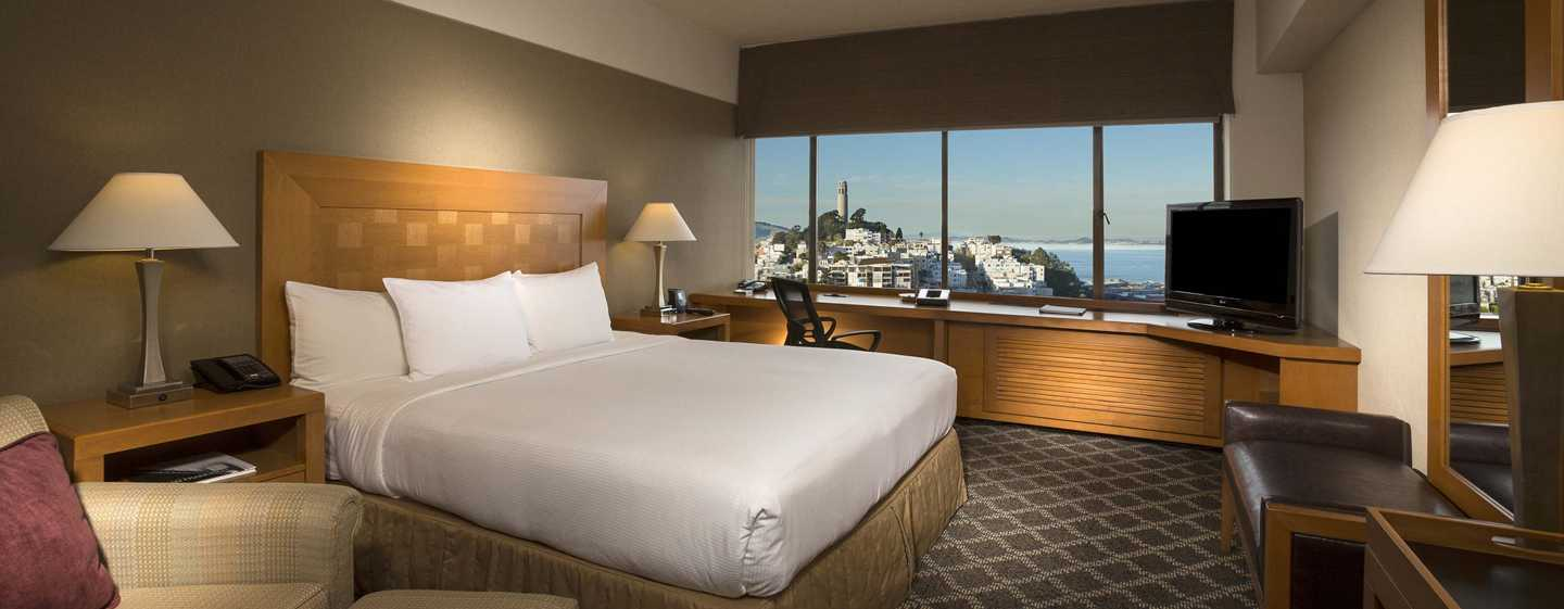 Hilton San Francisco Financial District - Quarto King Premium