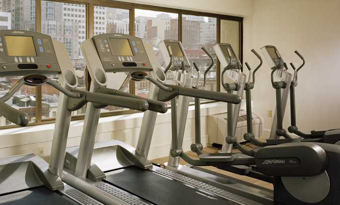 Hilton San Francisco Financial District hotel - Fitness center