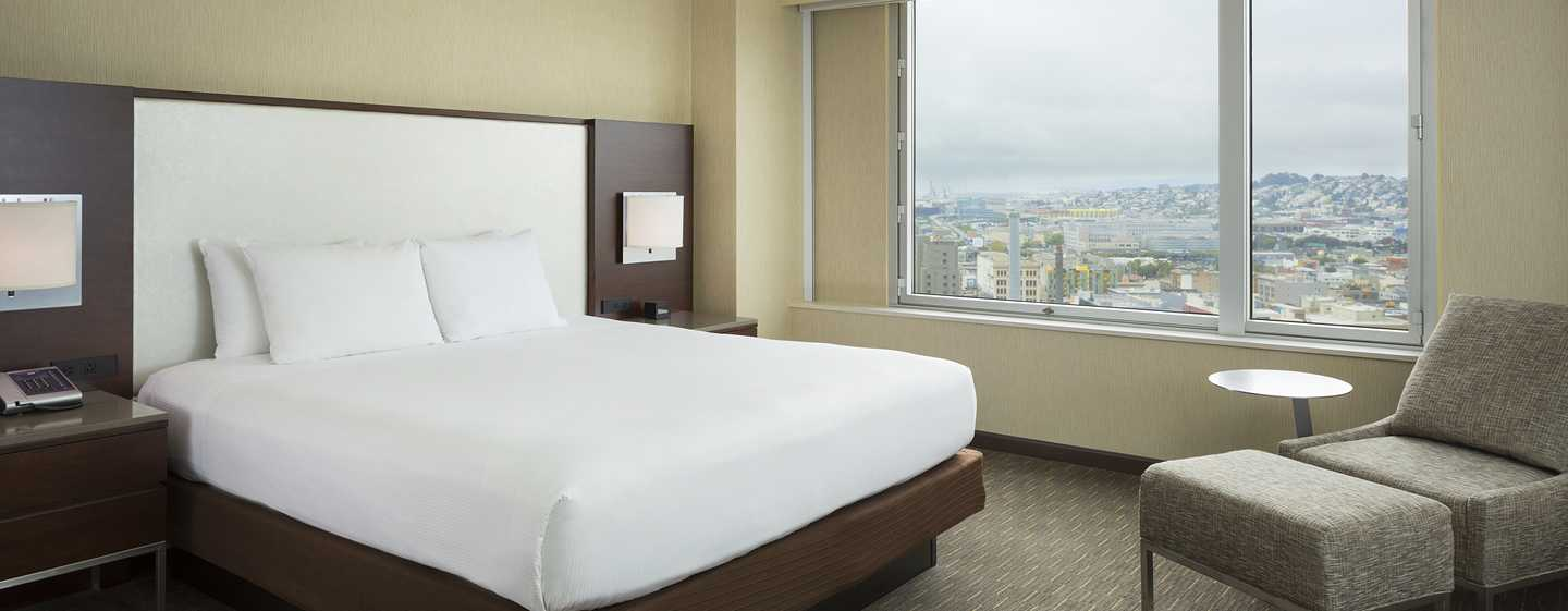 Hotel Hilton San Francisco Union Square, California, EE. UU. - Habitación con cama King