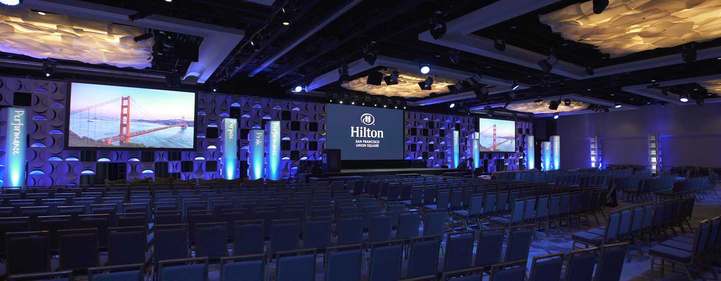 Hotel Hilton San Francisco Union Square, California, EE. UU. - Espacio para eventos