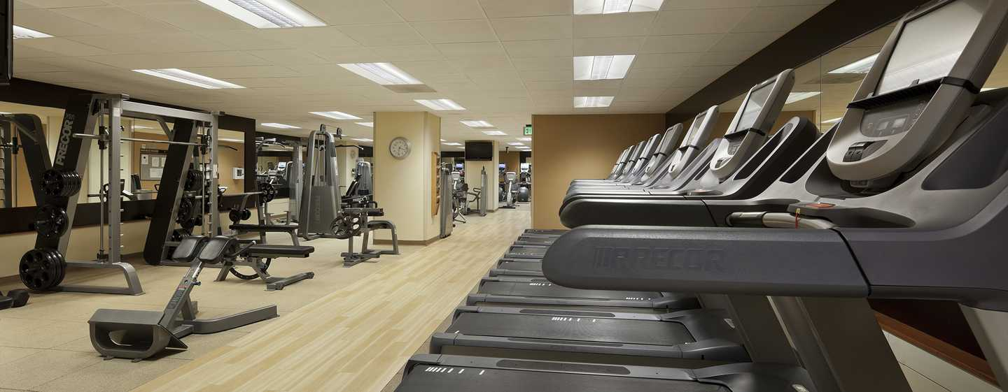 Hotel Hilton San Francisco Union Square, CA, USA – Centrum fitness