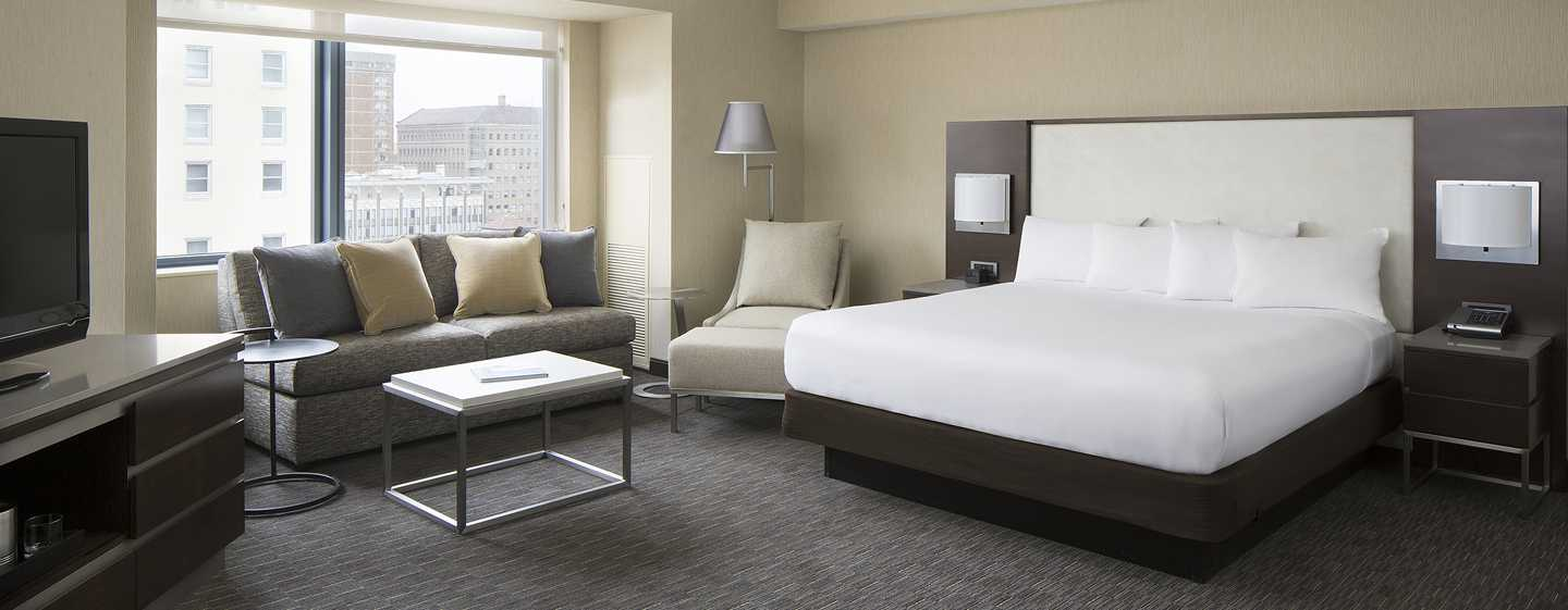 Hotel Hilton San Francisco Union Square, California, EE. UU. - Suite Junior