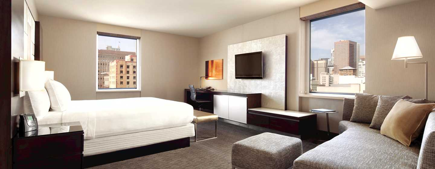 Hotel Hilton San Francisco Union Square, California, EE. UU. - Suite Junior con cama King