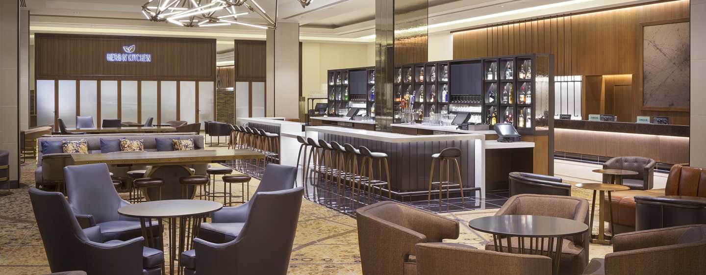 Hotel Hilton San Francisco Union Square, California, EE. UU. - Lobby bar