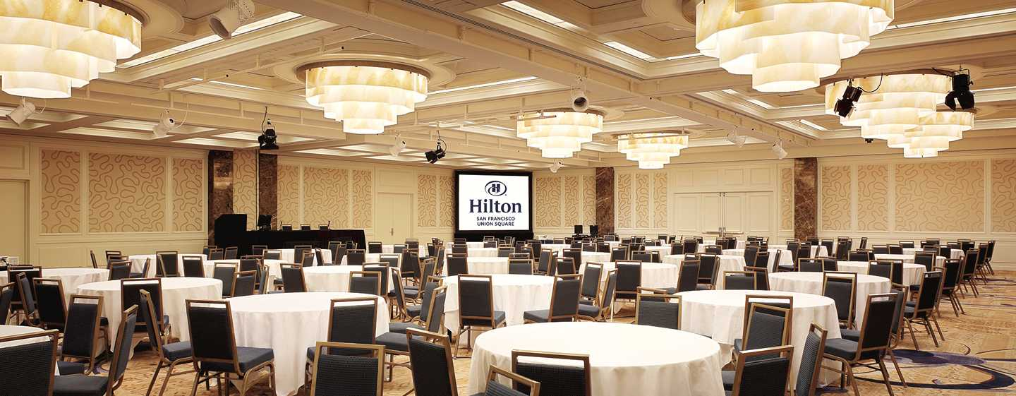 Hotel Hilton San Francisco Union Square, CA, USA – Sala balowa Imperial