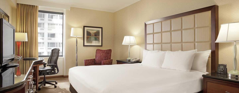 Hilton San Francisco Union Square hotel, Californië, VS - Klassiek met queensize bed