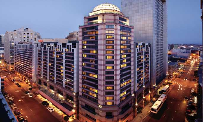 Hilton San Francisco Union Square, Californien, USA – Hotellet set udefra