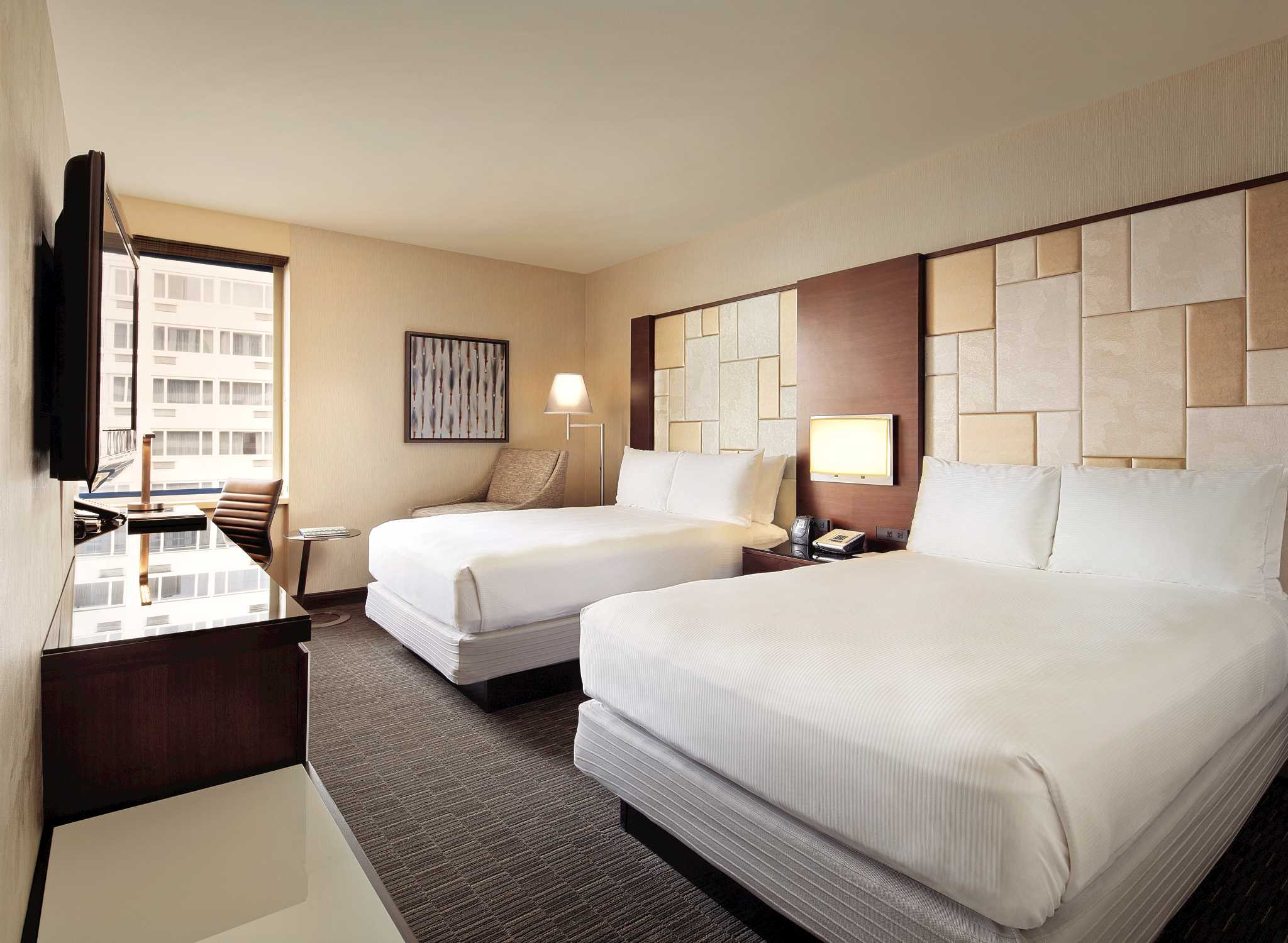Hotel Hilton San Francisco Union Square Kalifornie Usa Dvě Dvoulůžka
