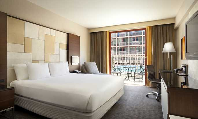 Hilton San Francisco Union Square -hotelli, Kalifornia, USA - King-huone
