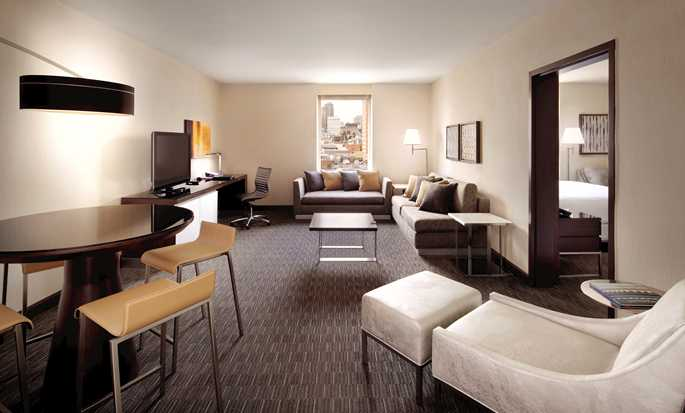 Hotel Hilton San Francisco Union Square, CA, USA – Apartament z salonem
