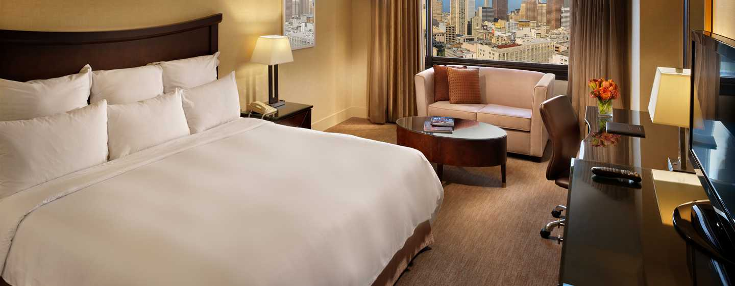 Parc 55 San Francisco - a Hilton Hotel, United States - Quarto King