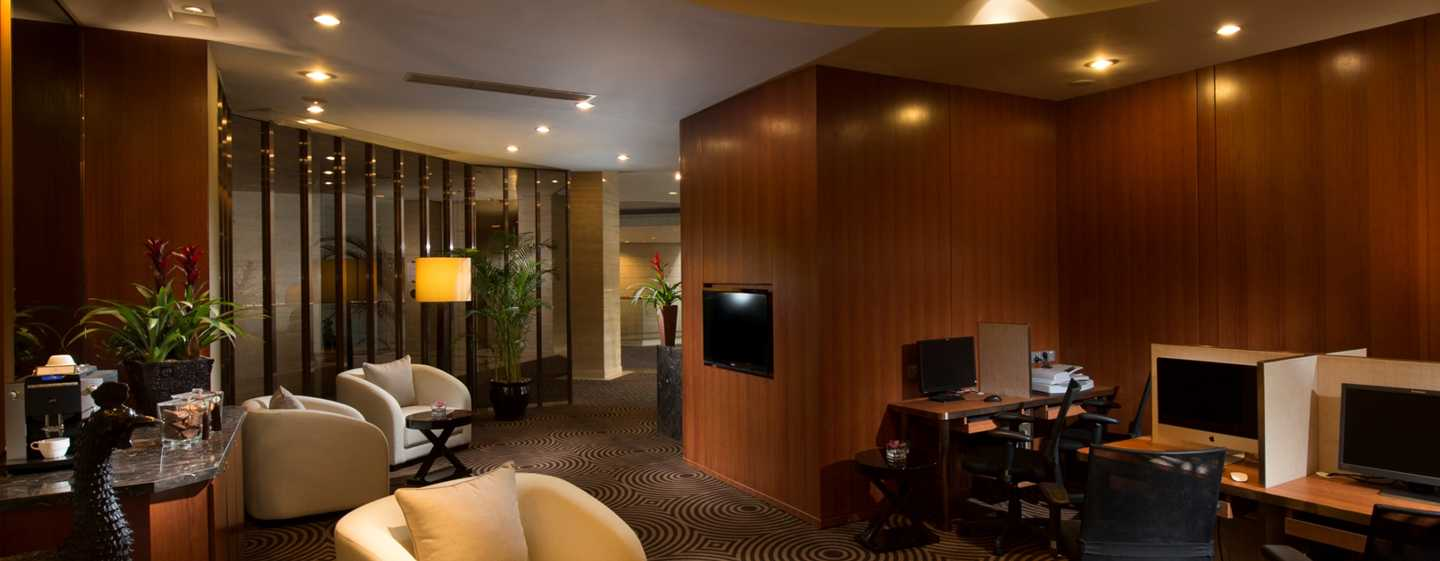 Hilton Shanghai Hotel – Business Center