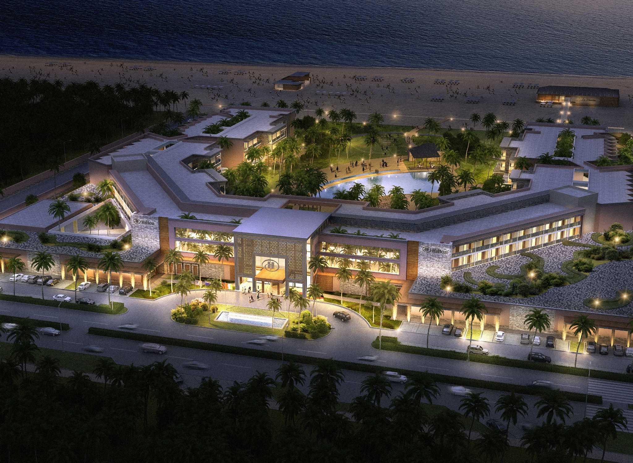 Hilton Cabo Verde Sal Resort Hotel Kap Außenansicht