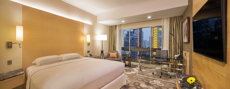 Hilton Singapore Hotel, Singapur U2013 Premium Zimmer Mit Kingsize Bett