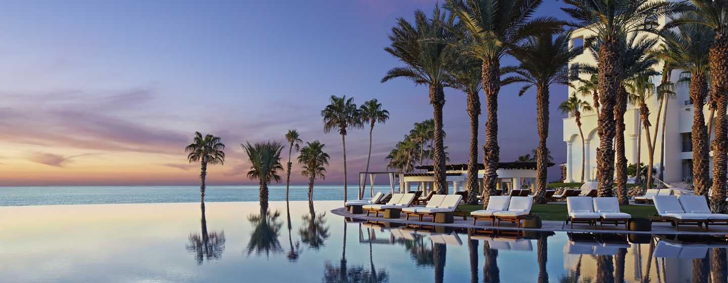 Hilton Los Cabos Beach & Golf Resort, México – Piscina de borda infinita