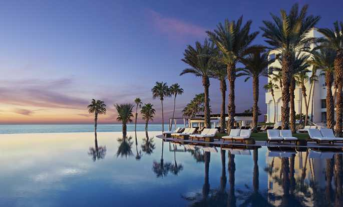 Hilton Los Cabos Beach & Golf Resort, México - Piscina de borde infinito