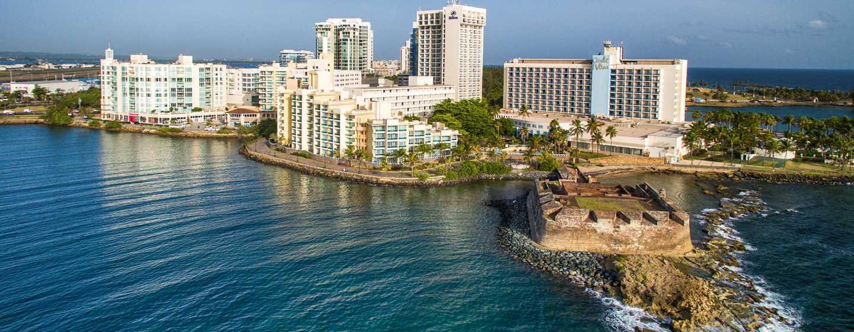 Hotel Caribe Hilton San Juan Puerto Rico Fachada Del