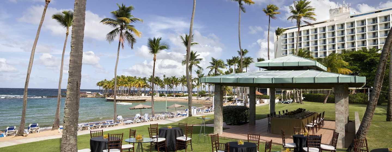 Hotel Caribe Hilton San Juan Puerto Rico Eventos Al Aire Libre