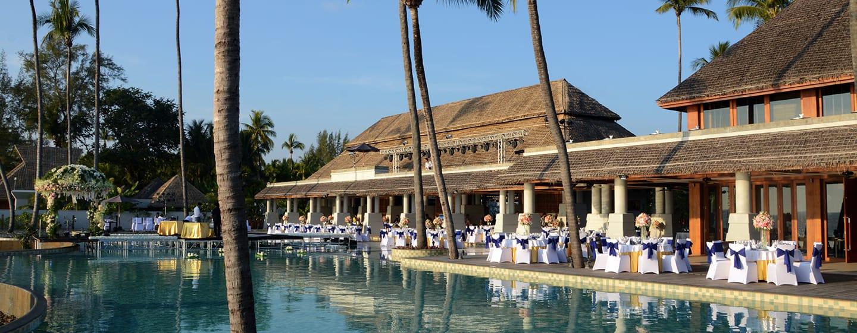 Hilton Ngapali Resort & Spa Hotel, Myanmar – Hochzeit am Swimmingpool