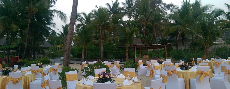 Hilton Ngapali Resort & Spa Hotel, Myanmar – Hochzeit im Freien