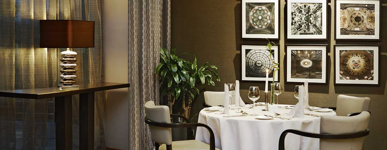 Hilton Sofia, Bulharsko – Restaurace Seasons