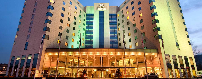 Hotel Hilton Sofia, Bułgaria – fasada hotelu