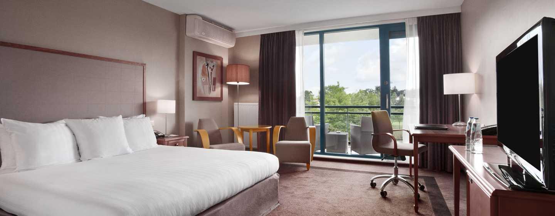 Hilton Royal Parc Soestduinen, Nederland - King kamer met uitzicht over de golfbaan