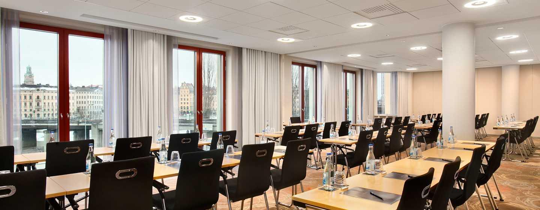 Hotell Hilton Stockholm Slussen, Sverige – møterom med utsikt