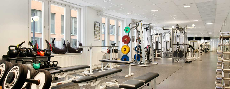 Hilton Stockholm Slussen, Sverige - gym