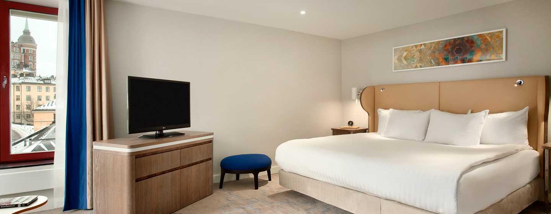 Hotell Hilton Stockholm Slussen, Sverige – Riddarholms-suite med soverom