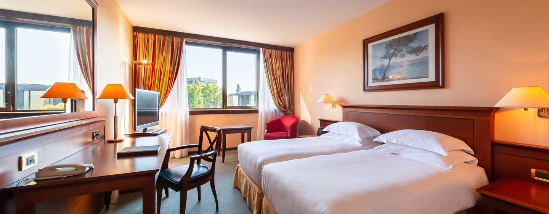 Hilton Strasbourg hotel, Frankrijk - Twin kamer