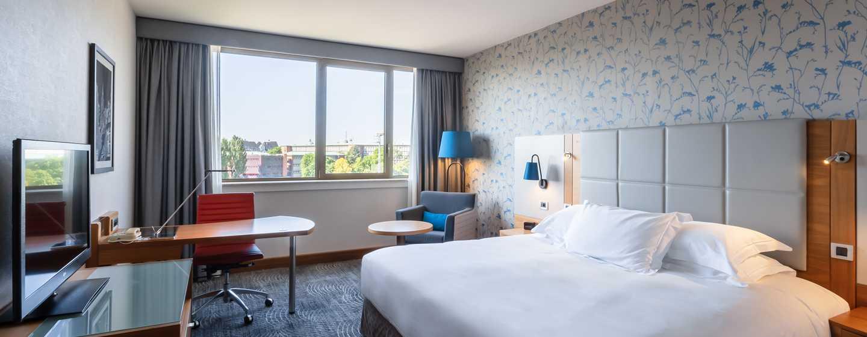 Hilton Strasbourg hotel, Frankrijk - King deluxe kamer