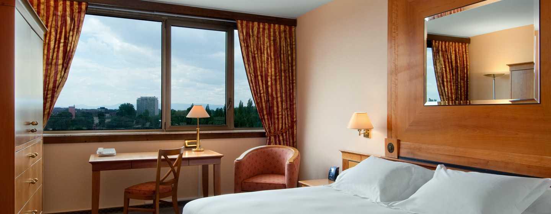 Hilton Strasbourg Hotel, Frankrijk - King Hilton Deluxe kamer