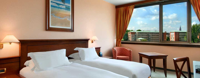 Hilton Strasbourg Hotel, Frankrijk - Twin Hilton kamer