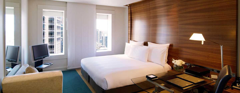 โรงแรม Hilton Sydney ออสเตรเลีย - ห้องพักทันสมัย