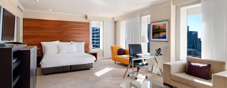 โรงแรม Hilton Sydney ออสเตรเลีย - ห้องพักกว้างขวาง