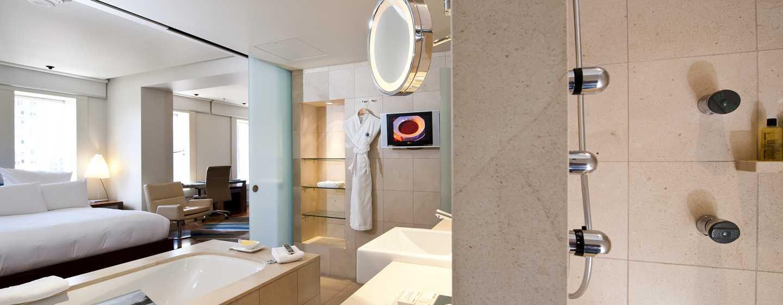 โรงแรม Hilton Sydney ออสเตรเลีย - ห้องเตียงคิงไซส์เพื่อการผ่อนคลาย