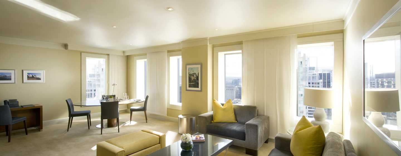 โรงแรม Hilton Sydney ออสเตรเลีย - ห้องสวีท - พื้นที่นั่งเล่น